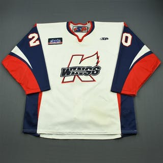 Sirota, Nick White Set 1 Kalamazoo Wings 2011-12 #20 Size: 58
