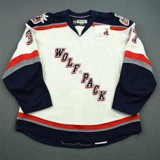 Stefanishion, Matt White Set 2 Hartford Wolf Pack 2008-09 #37 Size: 58