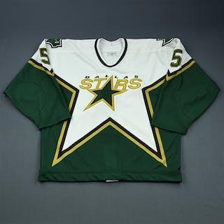 Sydor, Darryl * White Set 3, Dallas Stars 2000-01 #5 Size: 56