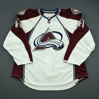 Beaupre, Gabriel White Set 1 - Game-Issued (GI) Colorado Avalanche