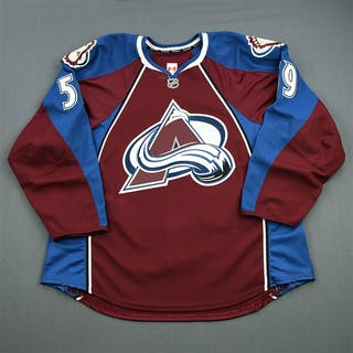 Donnelly, Dillon Burgundy Set 1 - Game-Issued (GI) Colorado Avalanche