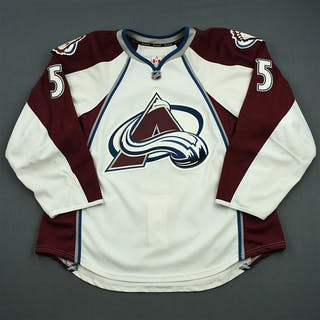 Guenin, Nate White Set 3 / Playoffs Colorado Avalanche 2013-14 #5 Size: 58