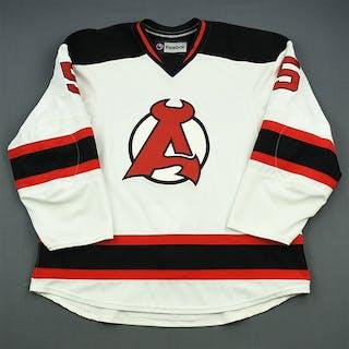 Merrill, Jon White Albany Devils 2012-13 #5 Size: 58