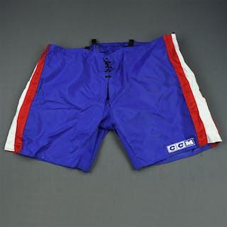 Markkanen, Jussi Blue CCM Vintage Pants Shell New York Rangers 2003-04 #40