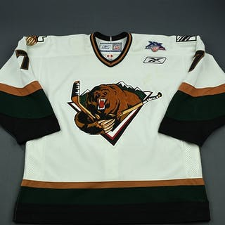 Dwyer, Jeff White Set 1 Utah Grizzlies 2007-08 #7 Size: 56