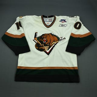 Johnson, Keith White Set 1 Utah Grizzlies 2007-08 #10 Size: 54