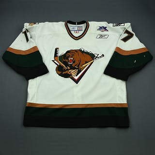 Pitton, Jason White Set 1 Utah Grizzlies 2007-08 #17 Size: 58