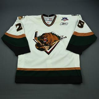 Sanford, James White Set 1 Utah Grizzlies 2007-08 #25 Size: 56