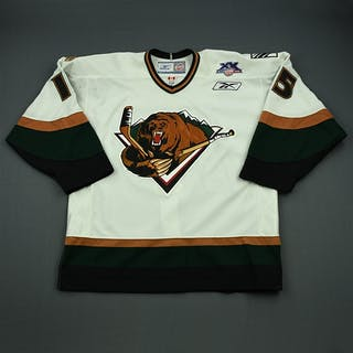 Sertich, Andy White Set 1 Utah Grizzlies 2007-08 #15 Size: 54