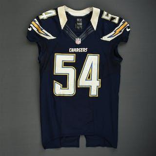 Ingram, Melvin Navy - worn November 1, 2012 vs. Kansas City San Diego
