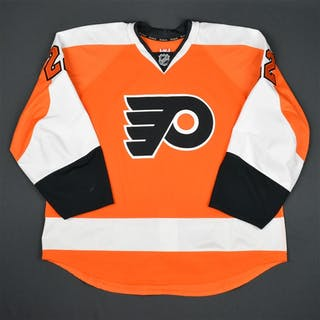 Schenn, Luke Orange Set 1 Philadelphia Flyers 2015-16 #22 Size: 58
