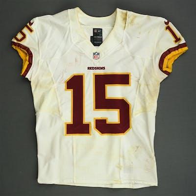 Morgan, Josh White - worn October 27, 2013 at Denver Washington Redskins