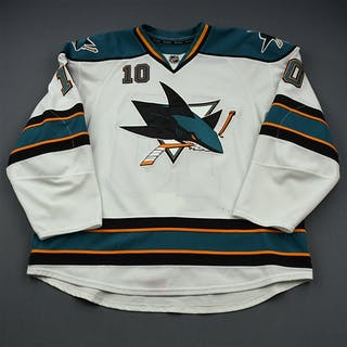 Winchester, Brad * White San Jose Sharks 2011-12 #10 Size: 58+