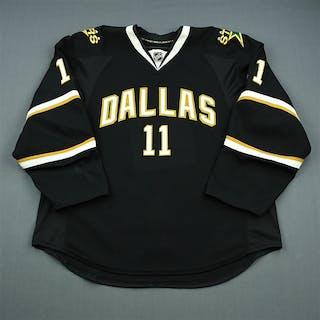 Gagnon, Aaron Black Set 1 Dallas Stars 2010-11 #11 Size: 56