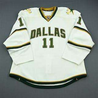 Gagnon, Aaron White Set 1 Dallas Stars 2010-11 #11 Size: 56