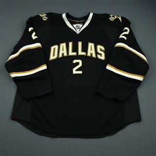 Grossmann, Nicklas Black Set 3 - Game-Issued (GI) Dallas Stars 2010-11