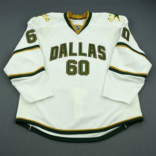 McCulloch, Scott White Set 1 - Game-Issued (GI) Dallas Stars 2010-11