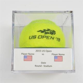 Novak Djokovic vs. Roger Federer Match-Used Ball - Final - Arthur