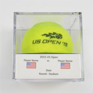 Simone Bolelli vs. David Goffin Match-Used Ball - Round 1 - Court