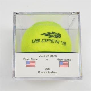 Ernests Gulbis vs. Aljaz Bedene Match-Used Ball - Round 1 - Court