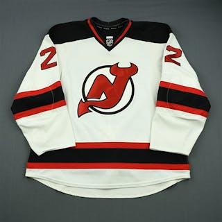 Barch, Krystofer White Set 1 New Jersey Devils 2012-13 #22 Size: 58