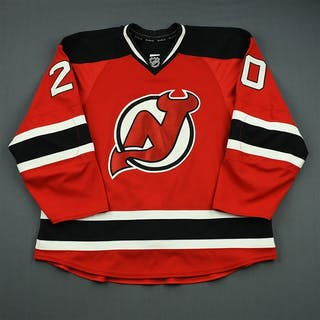 Carter, Ryan Red Set 1 New Jersey Devils 2012-13 #20 Size: 58