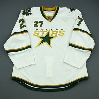 NNOB, No Name On Back Third Set 1 - Game-Issued (GI) Dallas Stars