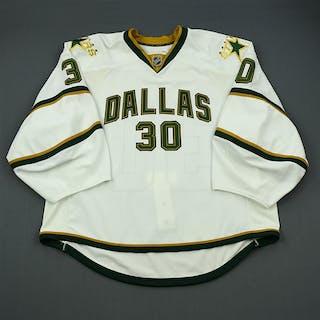 Raycroft, Andrew White Set 3 - Backed Up Dallas Stars 2010-11 #30 Size: 58G