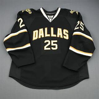 Stephenson, Matt Black Set 1 - Game-Issued (GI) Dallas Stars 2010-11