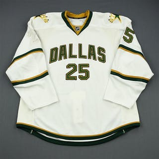 Stephenson, Matt White Set 1 - Game-Issued (GI) Dallas Stars 2010-11