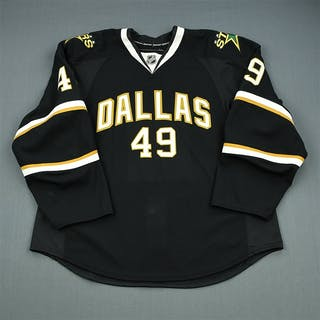 Theriau, Alex Black Set 1 - Training Camp Only Dallas Stars 2010-11