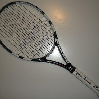 Radwanska, Agnieszka Babolat Racquet, Match-Used, Women's Singles
