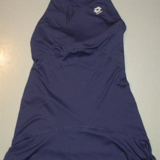 Radwanska, Agnieszka Purple Lotto Outfit, Match-Worn, Women's Singles