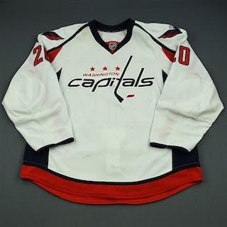 Brouwer, Troy White Set 1 Washington Capitals 2013-14 #20 Size: 58