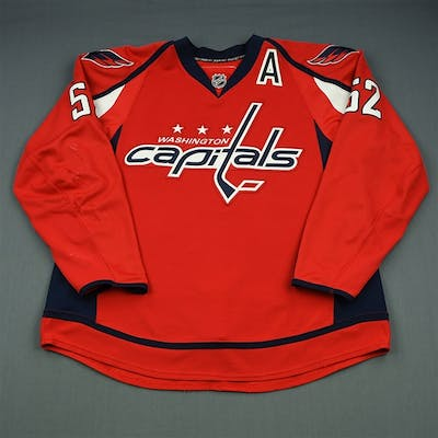Green, Mike Red Set 1 Washington Capitals 2013-14 #52 Size: 56