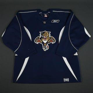 Reebok Navy Practice Jersey Florida Panthers 2005-06 Size: 56
