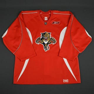 Reebok Red Practice Jersey Florida Panthers 2005-06 Size: 56