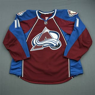 McGinn, Jamie Burgundy Set 2 Colorado Avalanche 2013-14 #11 Size: 58