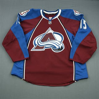 Parenteau, PA Burgundy Set 2 Colorado Avalanche 2013-14 #15 Size: 56
