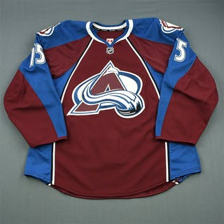 Parenteau, PA Burgundy Set 3 / Playoffs Colorado Avalanche 2013-14 #15 Size: 56