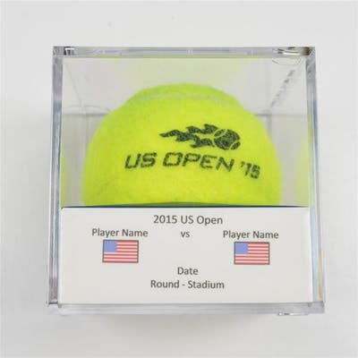 Jo-Wilfried Tsonga vs. Sergiy Stakhovsky Match-Used Ball - Round 3