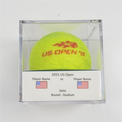 Eugenie Bouchard & Nick Kyrgios vs. Elina Svitolin Match-Used Ball