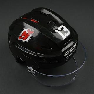 Cammalleri, Michael Black, CCM Helmet w/ Shield New Jersey Devils