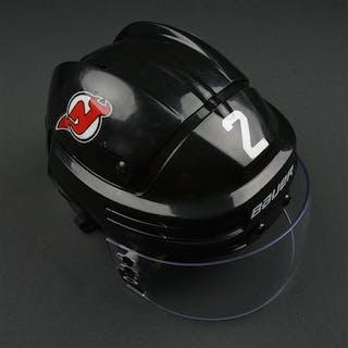 Moore, John Black, Bauer Helmet w/ Oakley Shield New Jersey Devils