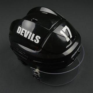 Ryder, Michael Black, Bauer Helmet w/ Oakley Shield New Jersey Devils