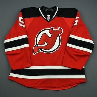 Larsson, Adam Red Set 3 / Playoffs New Jersey Devils 2011-12 #5 Size: 56