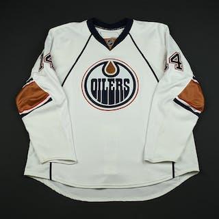 Torres, Raffi White Set 3 GI (RBK 1.0) Edmonton Oilers 2007-08 #14 Size: 58+