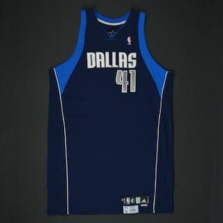 Nowitzki, Dirk * Navy Playoffs - Photo-Matched to 3 Games Dallas Mavericks