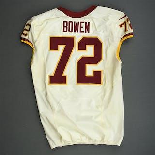 Bowen, Stephen White - Worn Thanksgiving Day, 11/22/12 vs. Dallas