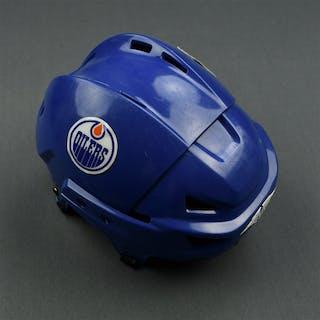 Winchester, Brad Mission Helmet Edmonton Oilers 2006-07 #26